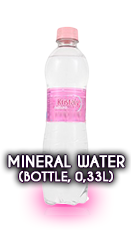 MINERAL WATER (Bottle, 2,5 DL)