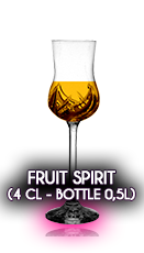 Fruit Spirits (4 cl - Bottle 0,5l) (Liqueurs based on Pálinka)