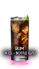 Rum (4 cl - Bottle 0,7l)