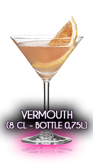 Vermouth (8 cl - Bottle 0,75l)