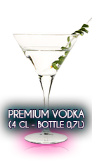 Premium Vodka (4 cl - Bottle 0,7l)
