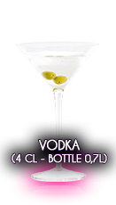 Vodka (4 cl - Bottle 0,7l)